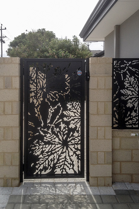 Balcatta Side Gate & Fence Infill