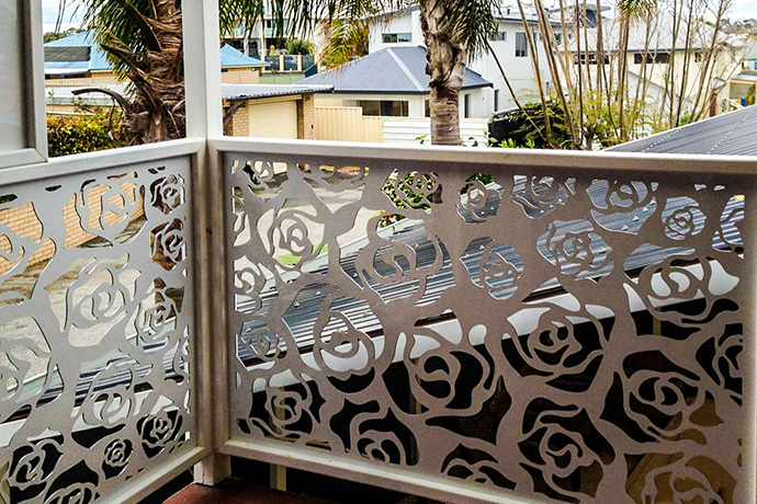 Outdoor Aluminium Balustrade