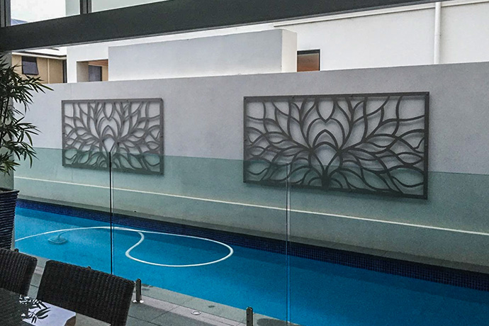 Iluka Poolside Outdoor Art Screen