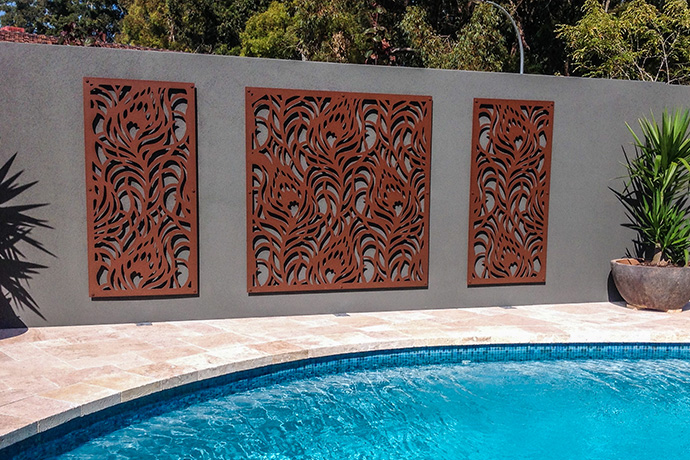 Dianella Poolside Art Screen