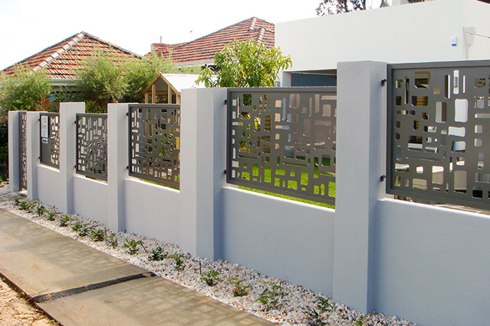 Doubleview Fence Infill & Gate