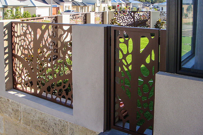 Gwelup Fence Infill & Gate