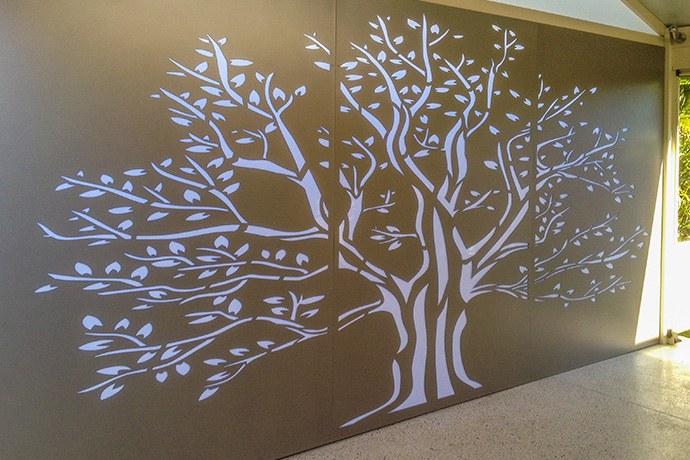 Lansdale Outdoor Backlit Panel