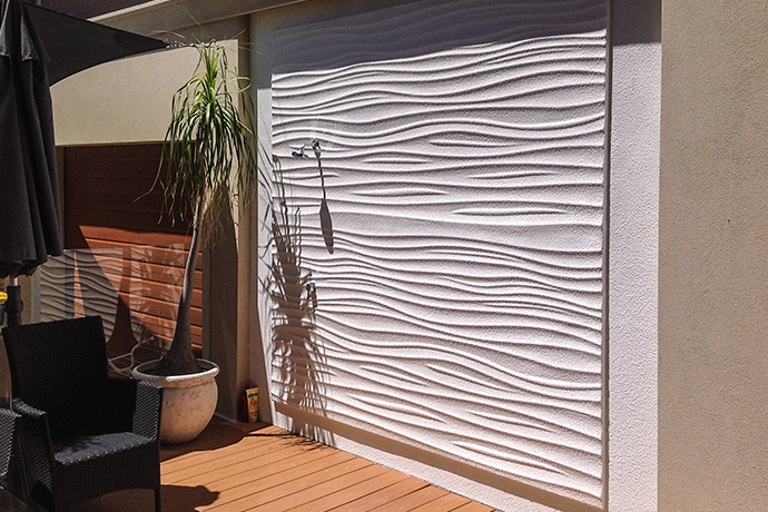 Outdoor Shower Wall Panel