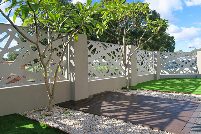 Mount Lawley Fence Infill & Gate