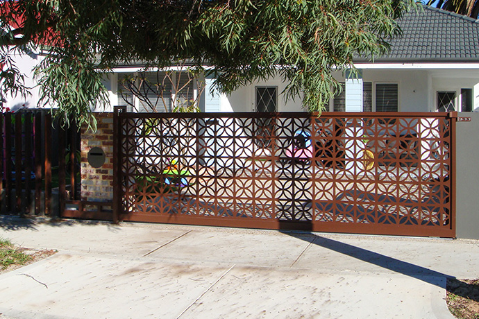 Mount Lawley Automatic Sliding Gate