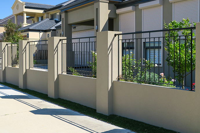 Churchlands Aluminium Fence Infill