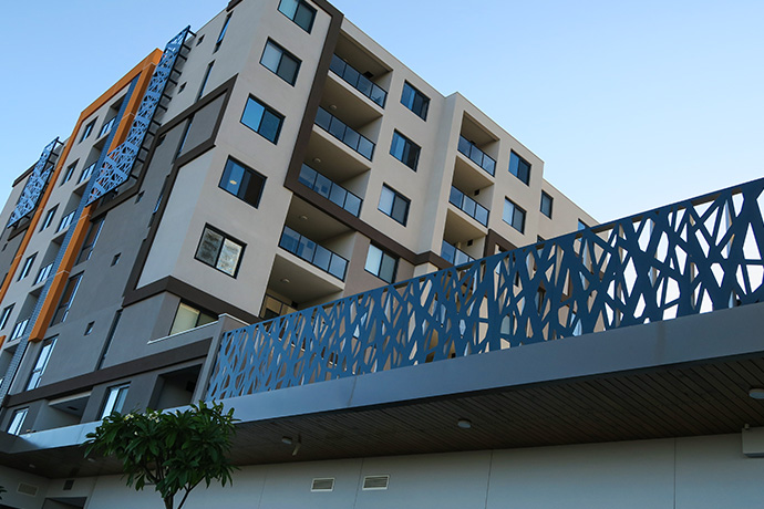 Balustrade & Screens for Bella Vita Apartments